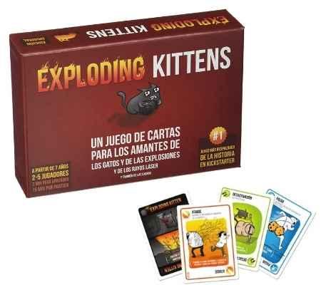Juego-de-cartas-Exploding-Kittens