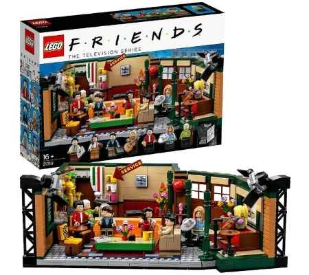 "LEGO-""Central-Perk""-cafetería-Friends"