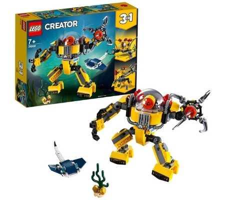 Oferta-black-friday-LEGO-Robot-submarino